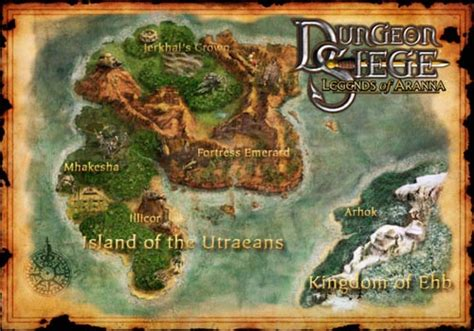 dungeon siege 3 map dungeon siege legends of aranna bomb