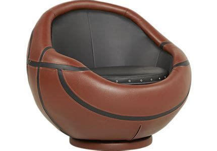 basketball swivel chair and ottoman chairs for bedrooms play rooms funky seating