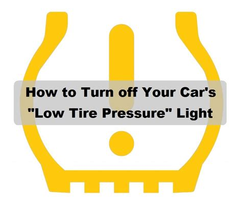 how to reset tire pressure light low tire pressure warning light why your tpms warning