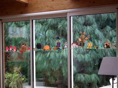 Halloween Decorations For The Home d 233 coration vitres v 233 randa