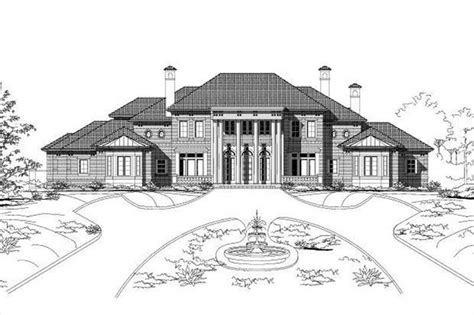 luxury colonial house plans house design plans