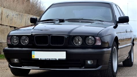 1992 bmw 5 series sedan specifications pictures prices