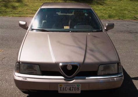 download car manuals 1995 alfa romeo 164 parking system sell used 1995 alfa romeo 164 ls sedan 5 speed manual in staunton virginia united states for