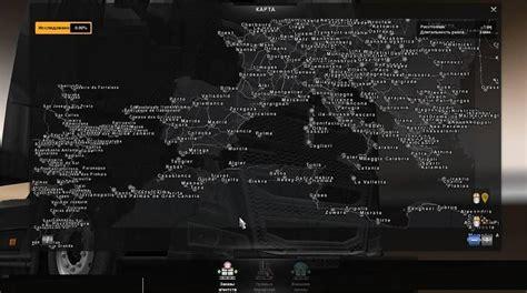 ets2 africa map mega map v2 0 fix map mod ets2 mod