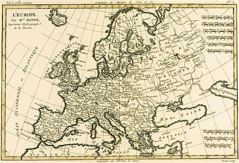 map drawing map of europe drawing by guillaume raynal