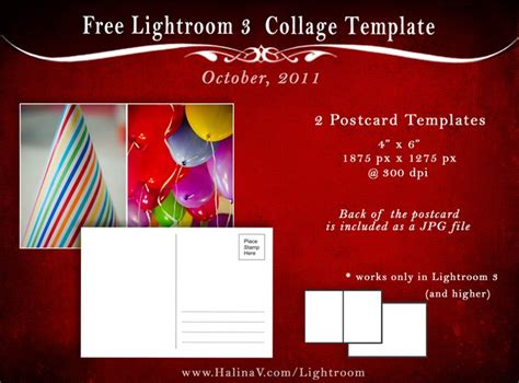 free card templates for lightroom 128 best images about freebies for photographers on