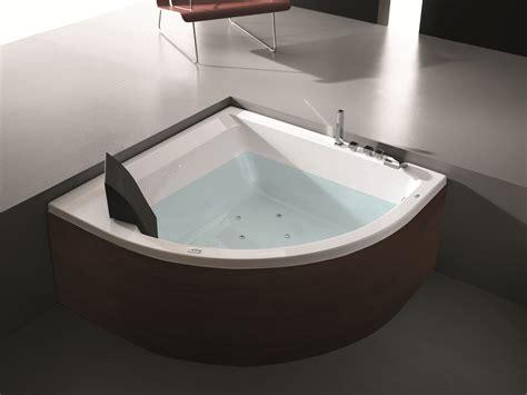 vasche da bagno con idromassaggio vasca da bagno angolare idromassaggio in legno era plus