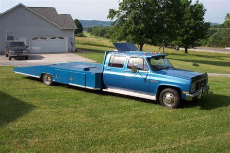 truck bed cer for sale 1988 gmc 3500 4 door crew cab car hauler hodges bed wedge
