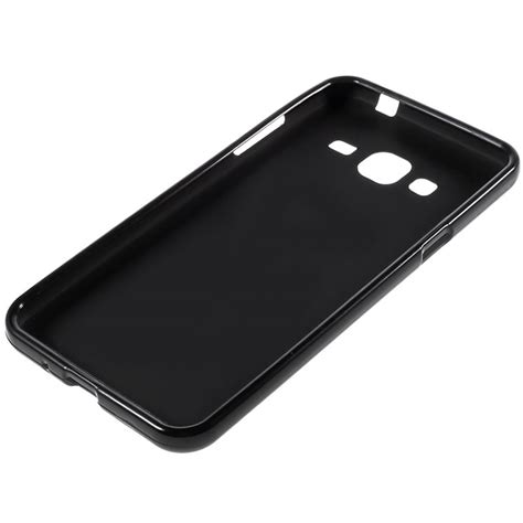 Softcase Black Matte For Samsung Galaxy J3 2016 samsung galaxy j3 2016 matte tpu black