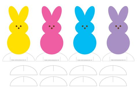 peep template free paper doll printable popsicle