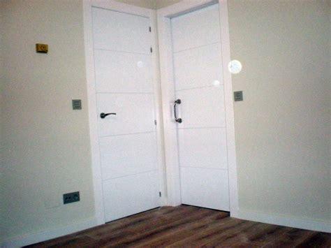 imagenes puertas interior blancas foto puertas blancas lacadas de corema construcciones