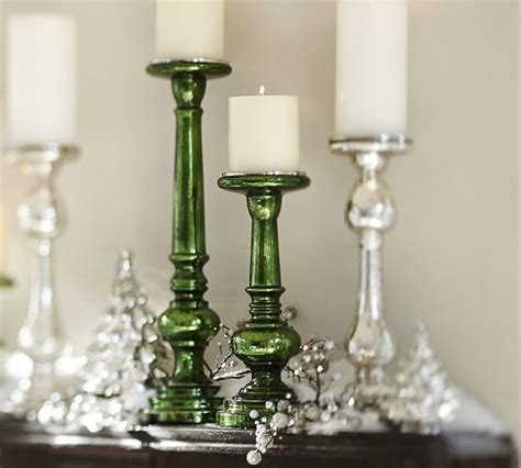 top 28 mercury glass pillar candle holder eastland
