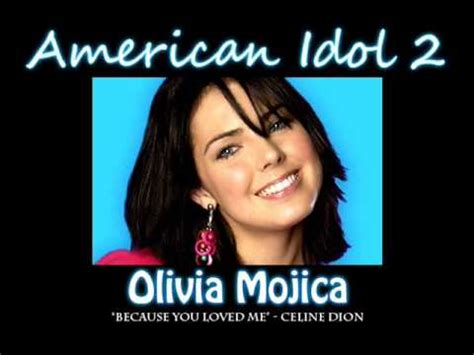 Mojica And Photos Idol by Mojica Because You Loved Me