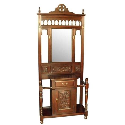 Black Wood Kitchen Cabinets victorian hall stand akd furniture