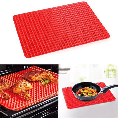 Pan Mat by Pyramid Pan Non Stick Silicone Cooking Mat Silicone Baking