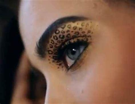 imagenes ojos de animales animal print leopardo para tus ojos maquillaje