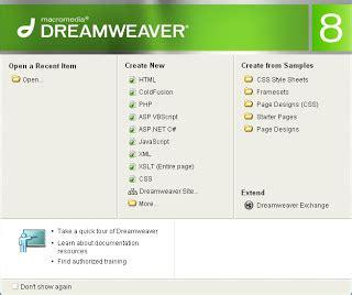 membuat web sederhana dengan adobe dreamweaver cs5 membuat web dinamis berbasis asp dengan dreamweaver