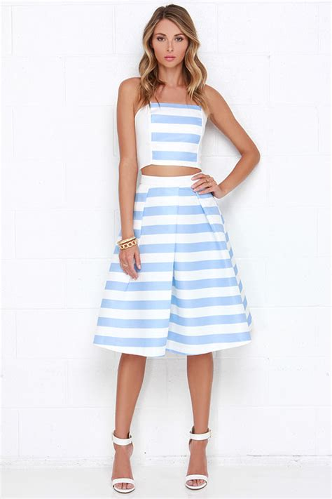 lade scrivania design lade da scrivania lovely ivory and blue dress striped
