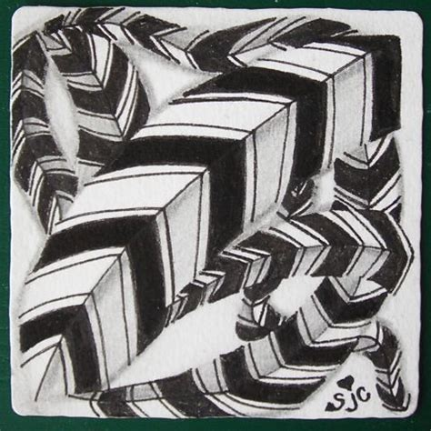 zentangle pattern braze nfz monotangle braze no step out zentangles and