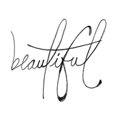 tattoo font beautiful the word beautiful in cursive beautiful cursive