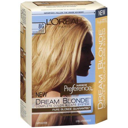 8g hair color l oreal superior preference complete