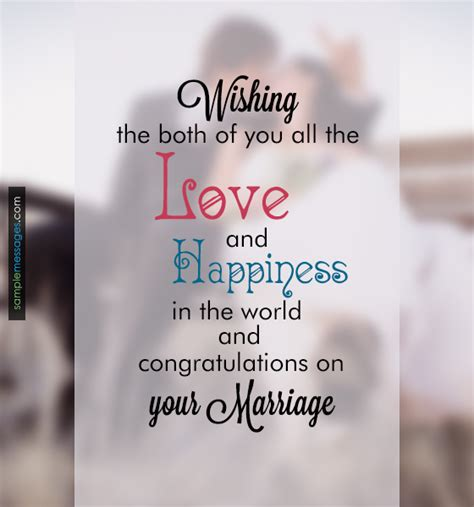Wedding Message by Wedding Messages Sle Messages