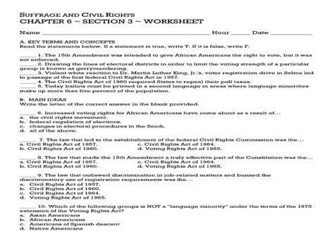 Amendment Worksheet Answers by Amendment Worksheet Answer Key Deployday
