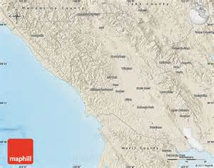united states california map shaded relief map of sonoma county