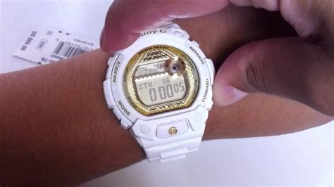 Casio Baby G Ba 110ga 7 A2dr Water Resistant 100 M casio baby g g lide tide graph blx100 7b