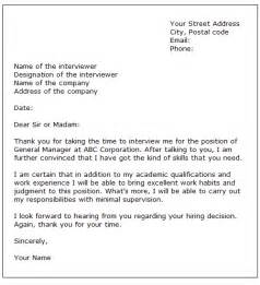 Thank You Letter After Job Promotion Interview How To Write A Thank You Letter After An Interview