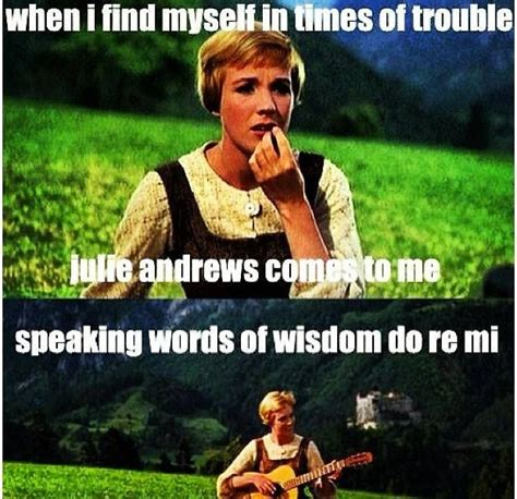 when i find myself in times of trouble julie andrews