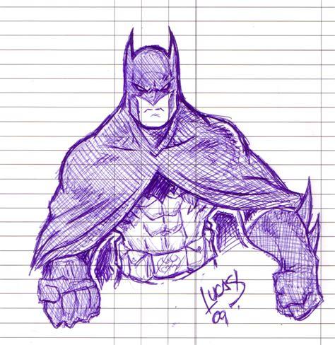 doodlebug batman batman doodle 09 by lucasackerman on deviantart