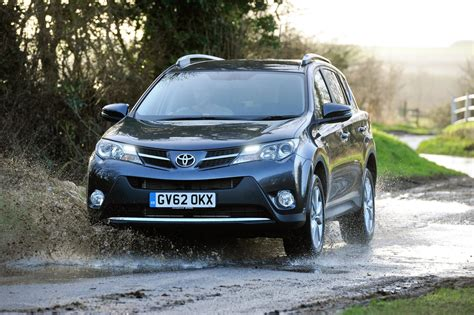 toyota family car new rav4 and auris lead toyota family car range growth in