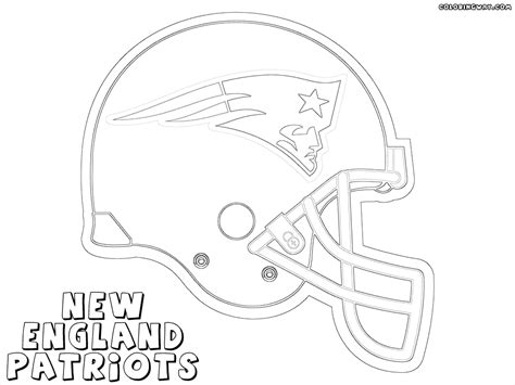 Patriots Helmet Coloring Page Coloring Pages Patriots Coloring Pages