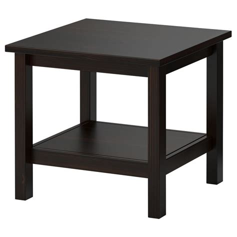 hemnes sofa table black brown hemnes side table black brown