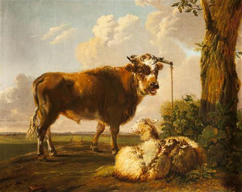 Vans Os os pieter g quot bull and sheep quot museum bredius en