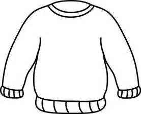 Sweater clipart black and white clipartfest