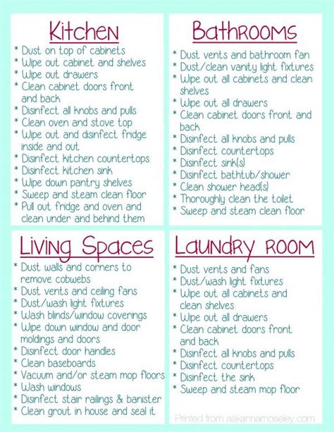 deep clean house what to clean before you move into a house and free