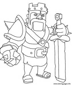 thrones coloring book colored pages barbarian king clash of clans coloring pages printable