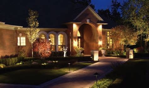 cost of landscape lighting allscape outdoor lighting system design landscape