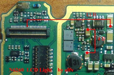 nokia rm 1110 display light nokia 6260 light problem solution with jumpers