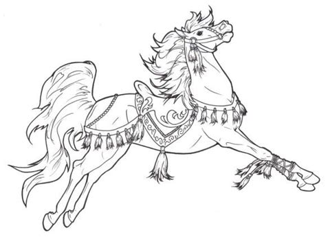 coloring pages of beautiful horses beautiful horse coloring pages coloring pages pinterest