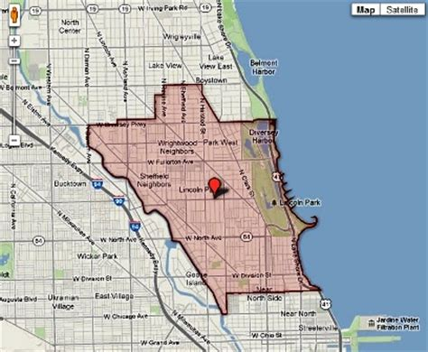 lincoln park chicago map chicago real estate near lincoln park high school