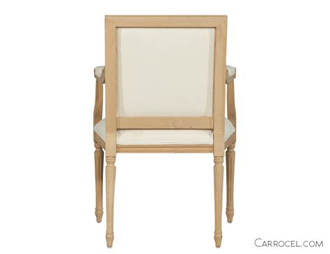 Handmade Dining Chair - louis capet custom dining chair arm carrocel