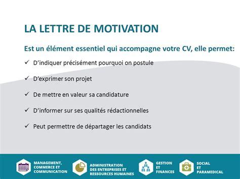 la lettre de motivation est bienvenue a tous atelier cv lettre de motivation ppt t 233 l 233 charger