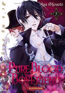 Vol 5 pure blood boyfriend he s my only vampire manga manga