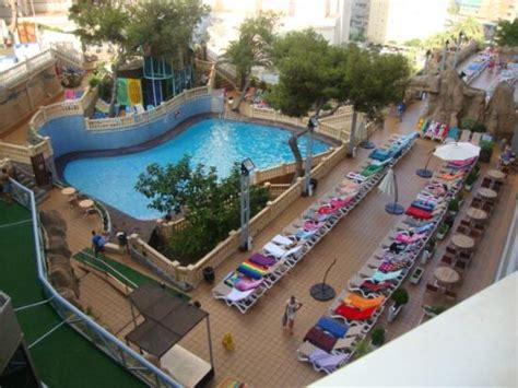 Aqua Magic Rock Gardens Foto Hotel Desde Habitacion Picture Of Magic Aqua Rock Gardens Benidorm Tripadvisor