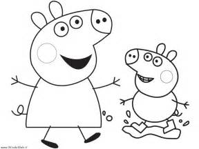 Rebeca rabbit peppa pig colouring pages page 2