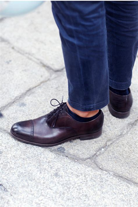 oxford shoes socks the sartorialist unconventional gift guide 2