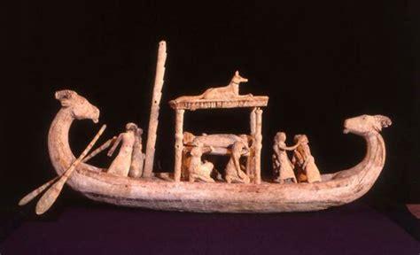 boat inspired dog names ancient egyptian model funerary boat australian museum